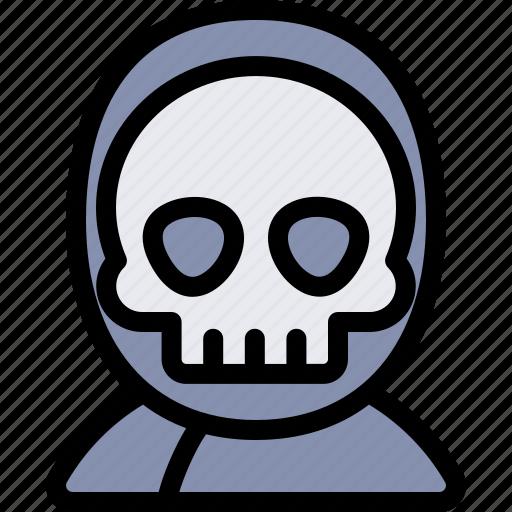 avatar, costume, death, halloween, october icon