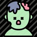 avatar, costume, halloween, october, zombie icon