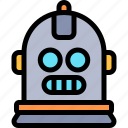 avatar, costume, halloween, october, robot icon