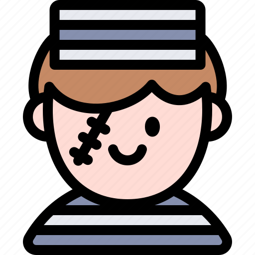 avatar, costume, halloween, october, prisoner icon