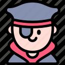 avatar, costume, halloween, october, pirate icon