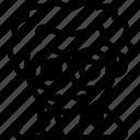 avatar, costume, halloween, october, proffesor icon