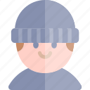 avatar, costume, halloween, october, robber icon