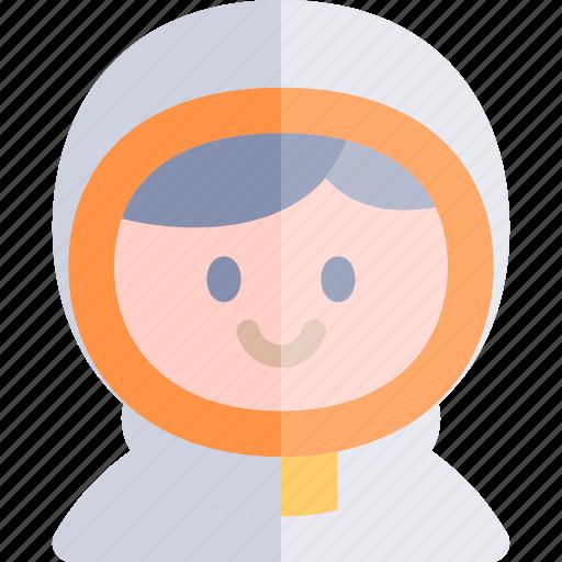 astronaut, avatar, costume, halloween, october icon