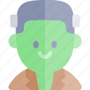 avatar, costume, frankestein, halloween, october icon