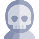 avatar, costume, death, halloween, october icon