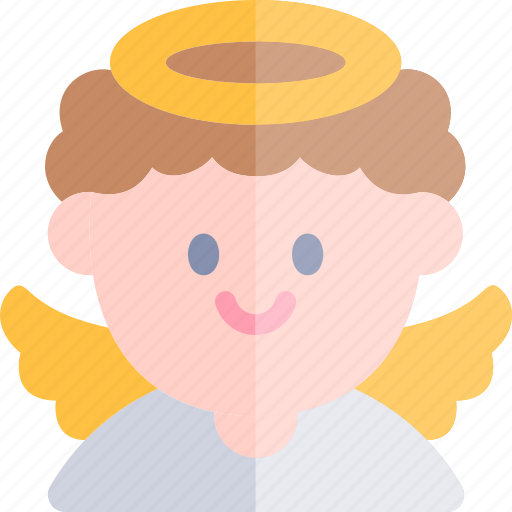 angel, avatar, costume, halloween, october icon