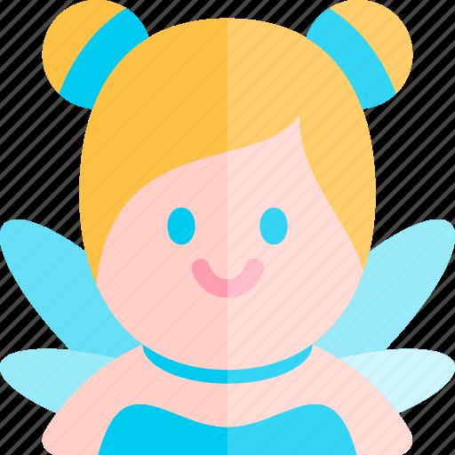 avatar, costume, fairy, halloween, october icon