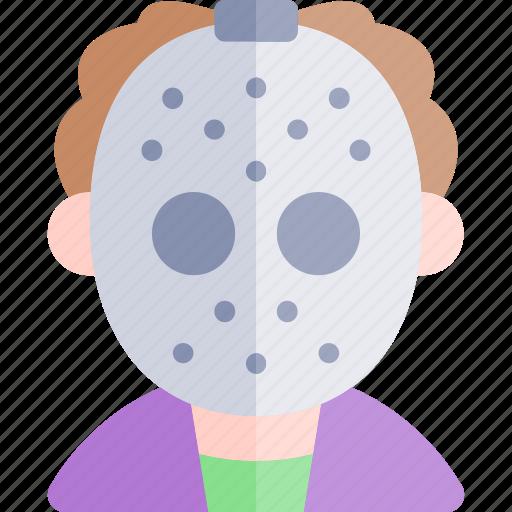 avatar, costume, halloween, hockey, mask, october icon