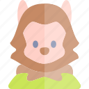 avatar, costume, halloween, october, werewolf icon
