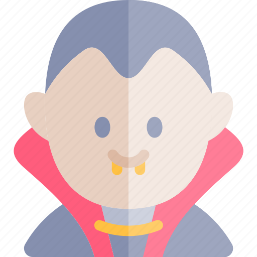 avatar, costume, dracula, halloween, october icon