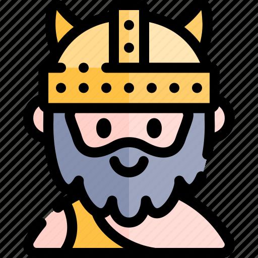 avatar, costume, halloween, october, viking icon