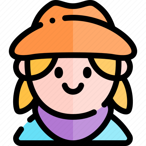 avatar, costume, cow, girl, halloween, october icon