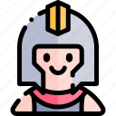 avatar, costume, gladiator, halloween, october icon