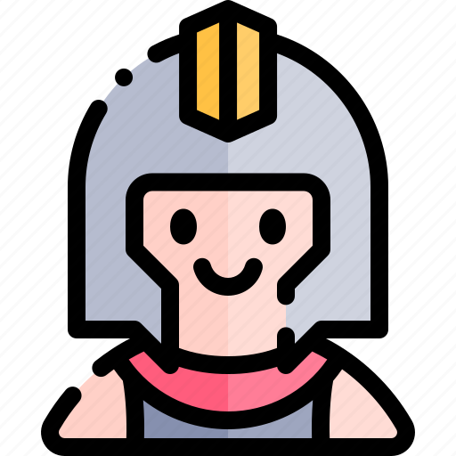 avatar, costume, gladiator, halloween, october icon
