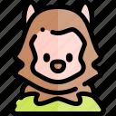 avatar, costume, halloween, october, werewolf icon