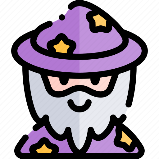 avatar, costume, halloween, october, wizzard icon