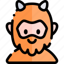 avatar, costume, halloween, monster, october icon