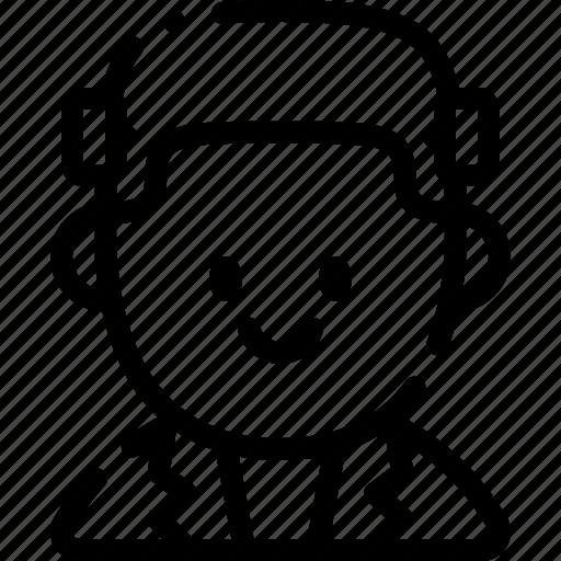 avatar, costume, frankestein, halloween, october icon