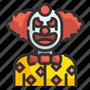 carnival, character, clown, costume, fear, halloween