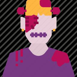 avatar, frankenstein, halloween, horror, scary icon