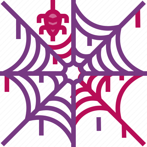 halloween, horror, scary, spider, spooky, web icon