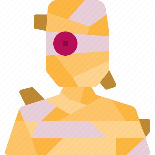 avatar, halloween, horror, mummy, scary icon