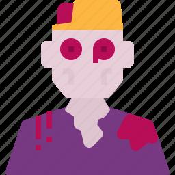 avatar, halloween, horror, scary, zombie icon