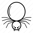 animal, animal kingdom, halloween, insert, scary, spider icon