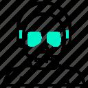 avatar, devil, halloween, mask, monster, zombie icon