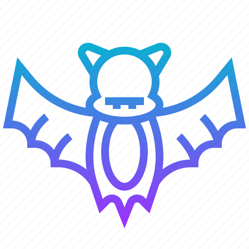 animal, bat, death, halloween icon