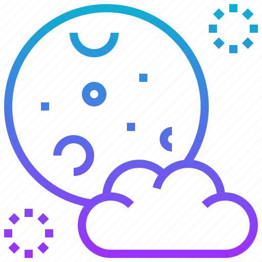 Cloud, full, halloween, moon icon - Download on Iconfinder