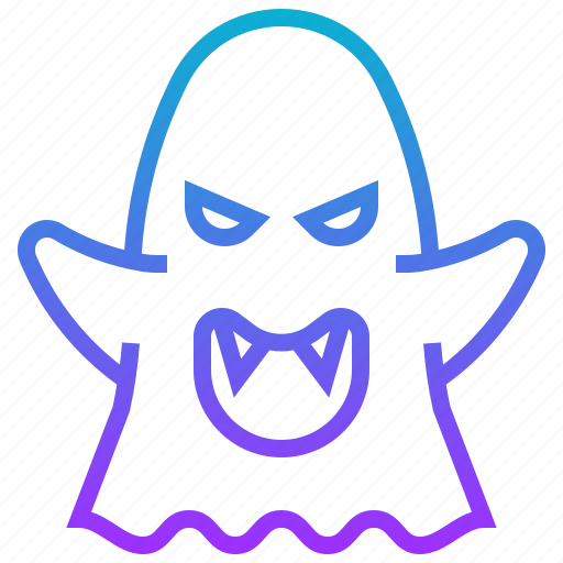 death, devil, ghost, halloween, monster icon