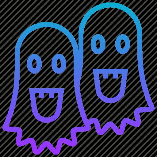 death, devil, ghost, halloween, monster, soul icon