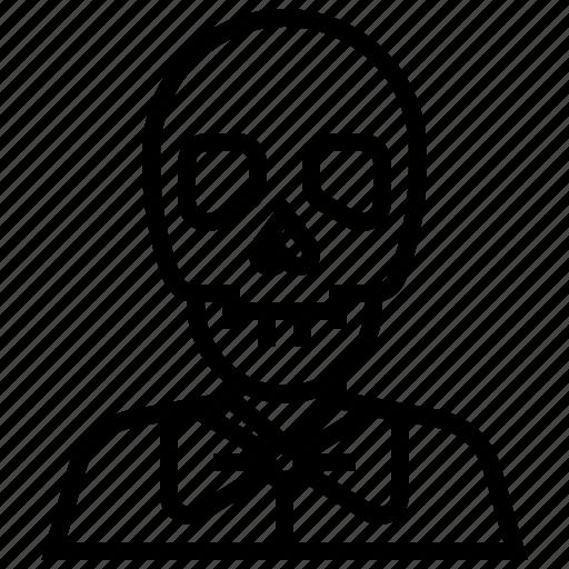 bone, death, devil, halloween, monster, zombie icon