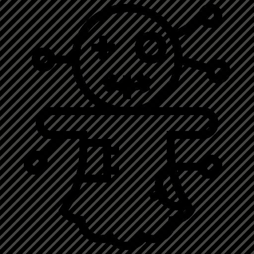 curse, death, devil, doll, halloween icon