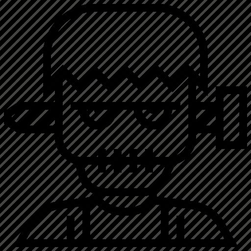 avatar, death, devil, halloween, scary, zombie icon