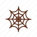 halloween, horror, spider, spider web icon