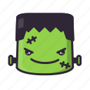 angry, frankenstein, halloween, terror icon