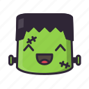 frankenstein, glad, halloween, monster icon