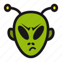 alien, halloween, space, ufo, visitor