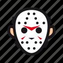 friday, halloween, hockey, jason, killer, mask, monster