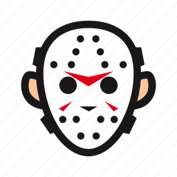 friday, halloween, hockey, jason, killer, mask, monster icon