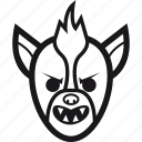 halloween, monster, scary, werewolf, wolf icon