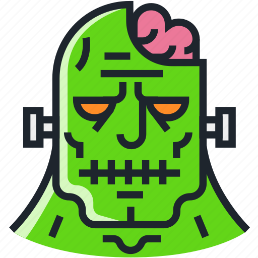 avatar, character, frankenstein, halloween, horror, scary, zombie icon