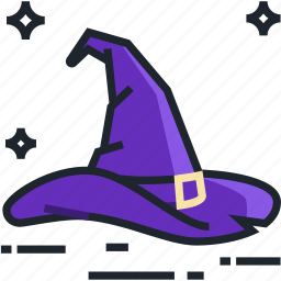 cap, halloween, hat, magic, spooky, witch, witch hat icon