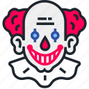 clown, halloween, horror, it, pennywise, scary icon