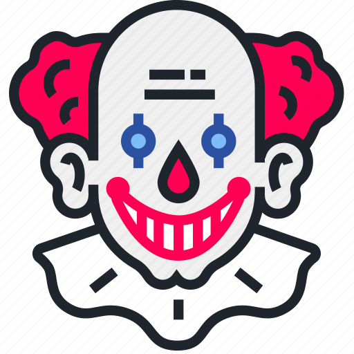 clown, halloween, horror, it, pennywise, scary, spooky icon