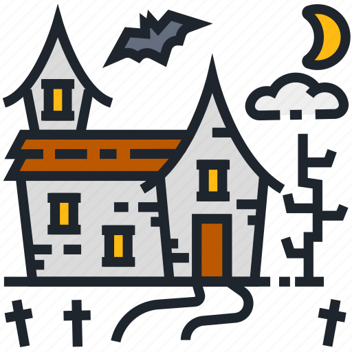 grave, graveyard, halloween, horror, spooky, witch house, witchcraft icon