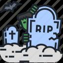frankenstein, grave, graveyard, halloween, horror, spooky, zombie icon